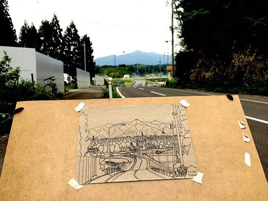石塚智寿個展関連トークイベント「故郷への訪問者」