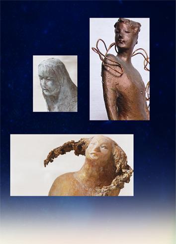 小柳葵 彫刻展 エピローグ_10年の痕跡
