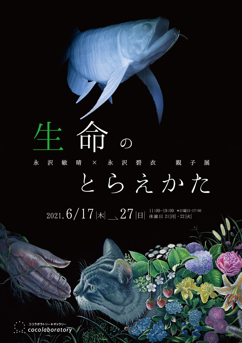 永沢敏晴×永沢碧衣 親子展「生命のとらえかた」